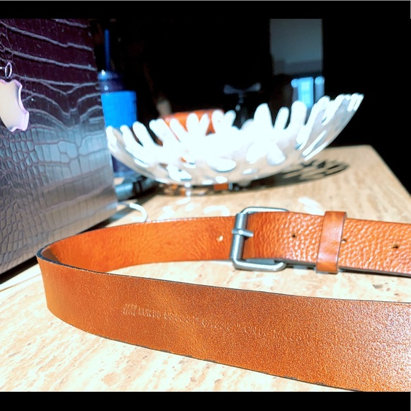 Other - Light Brown Leather Belt